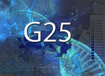 G25 distance maps